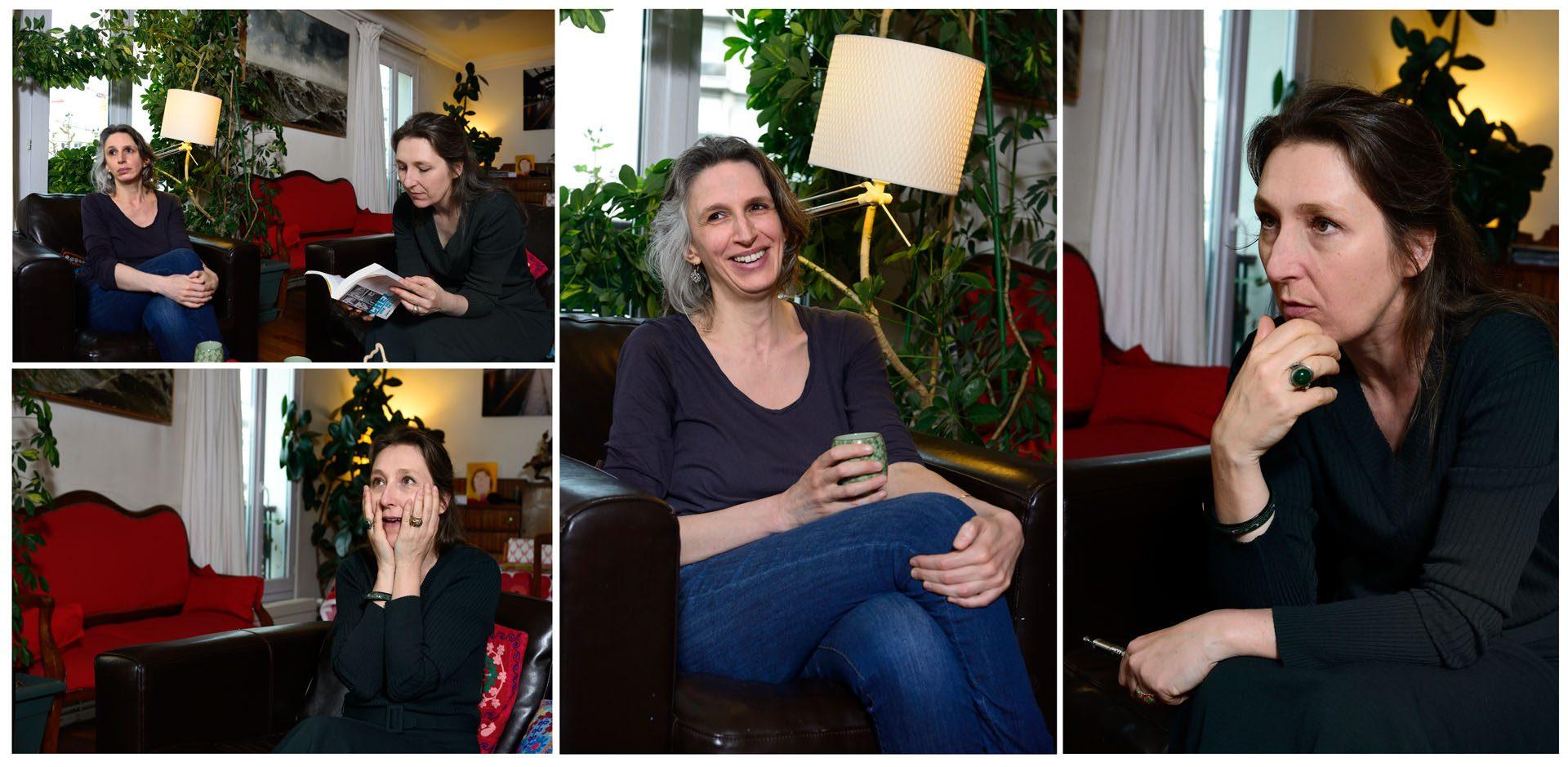 Mona Cholet & Marie Darrieussecq / Interview croisé