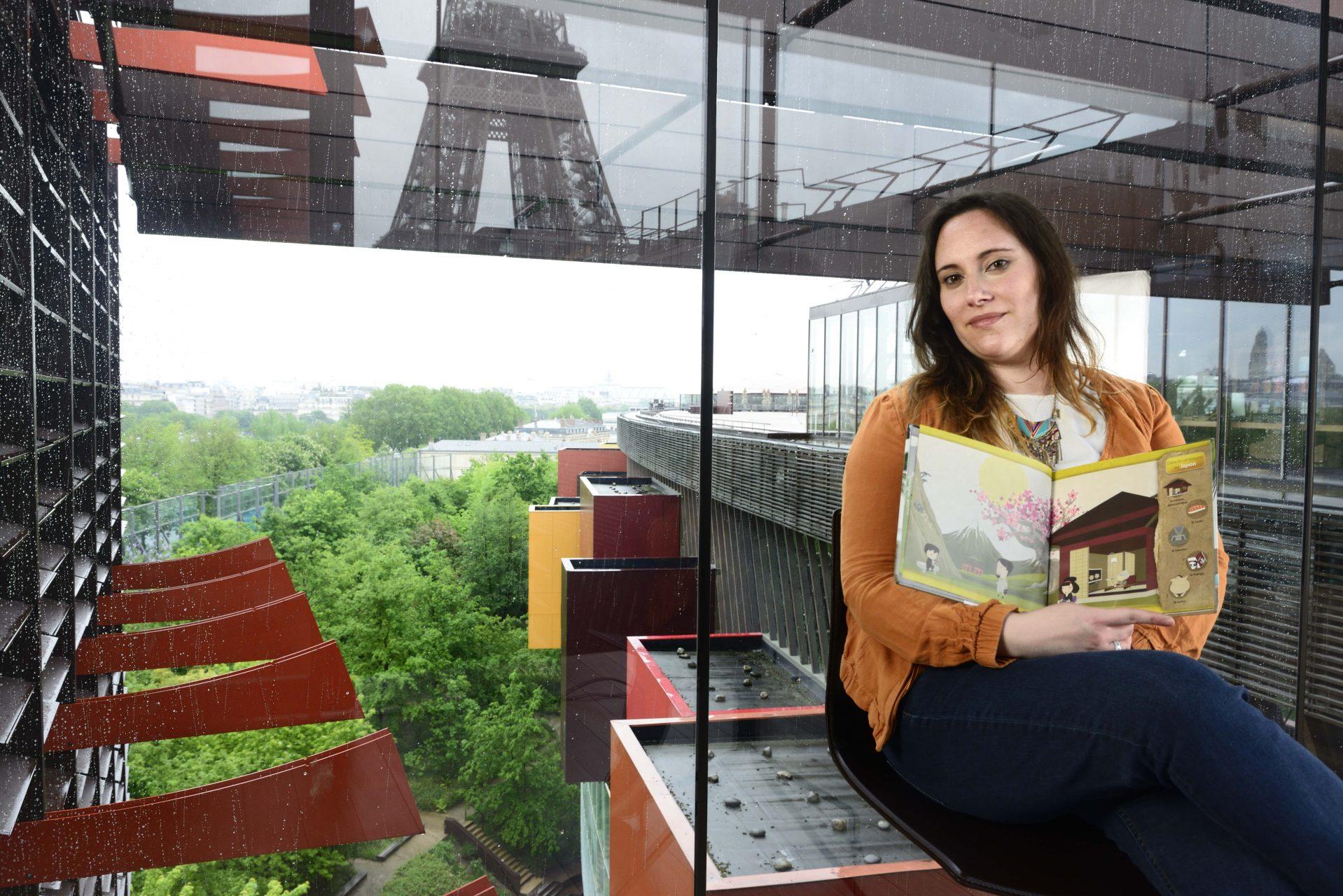 Giraud Valérie / Département du patrimoine et des collections : Agent de bibliothèque