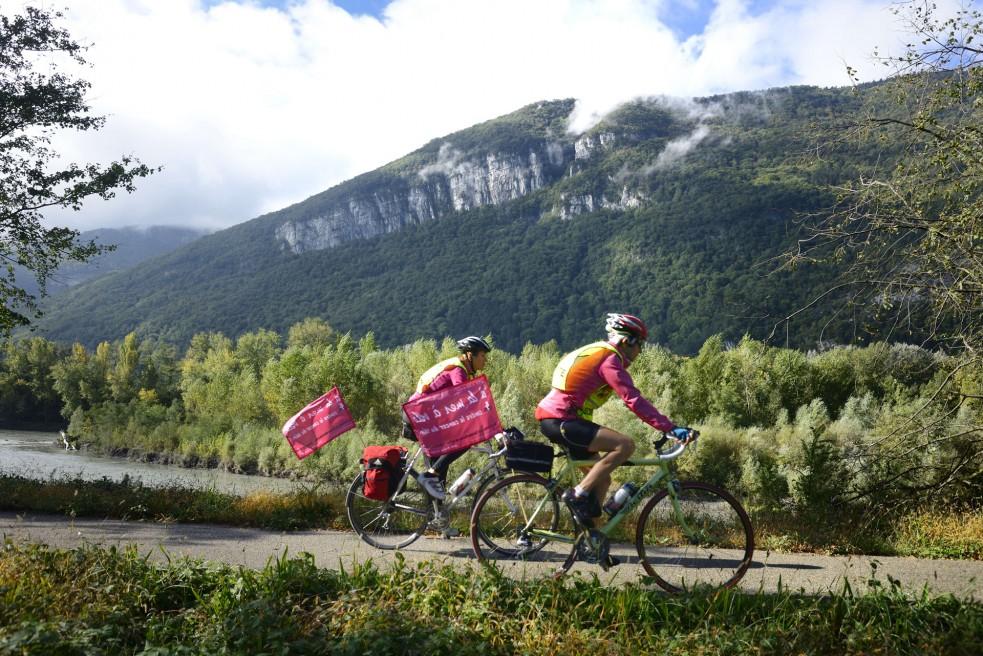 1 – Bike & Sea / 500 km / Chambery vers Sainte Marie de la Mer. (2015)