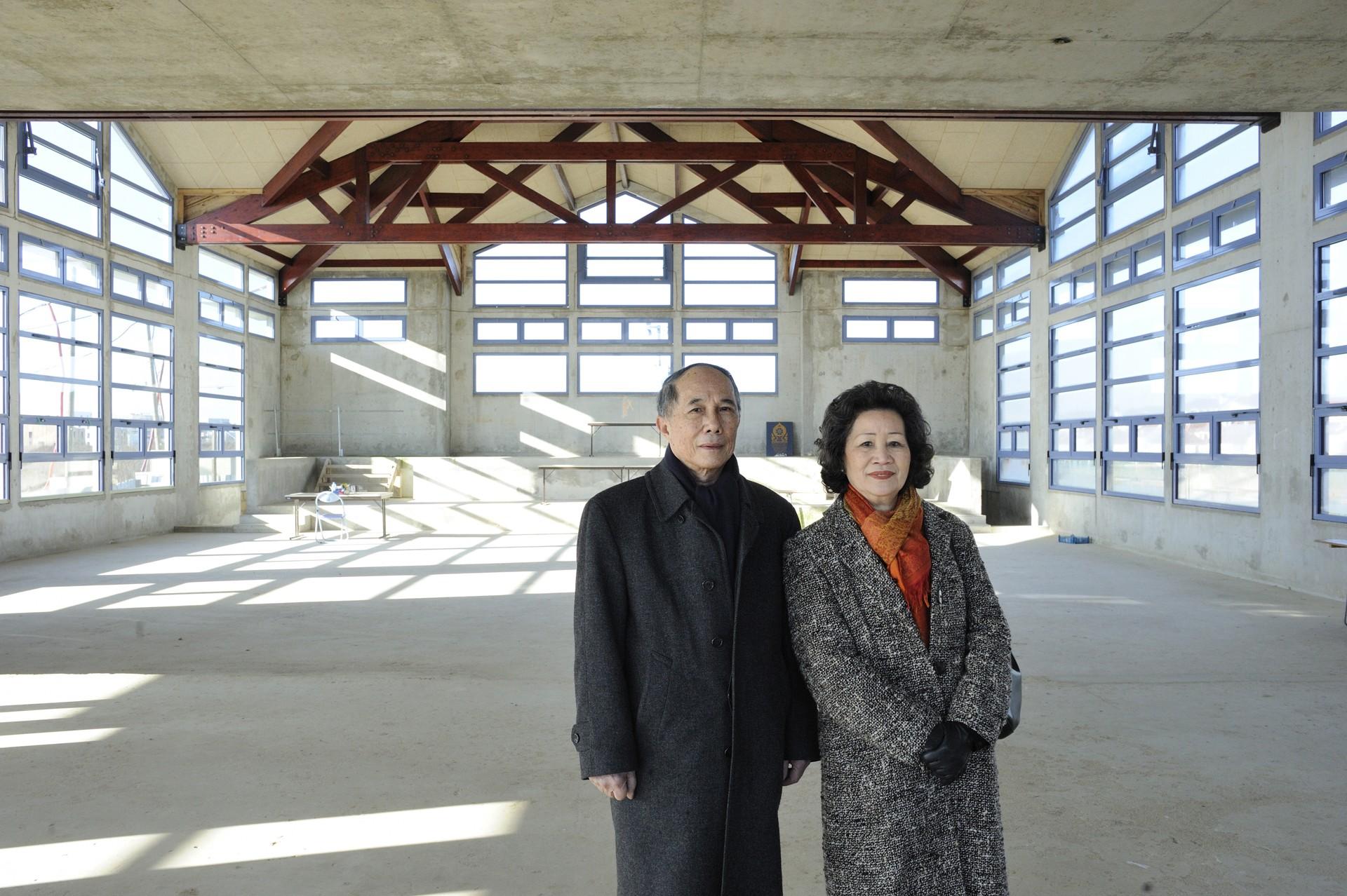 La Pagode Lao en cours de construction